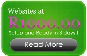 Websites at R1000.00
