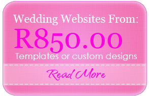 Wedding Websites from R850.00